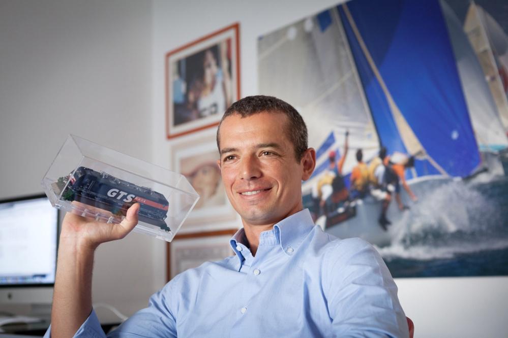 Alessio Muciaccia, CEO della GTS trasporti a Bari. fotografato per conto di Studio 9 Italia / Bari - 2012