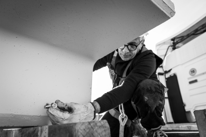 https://fotografarecomunicare.com/story-telling/storia-di-un-prefabbricato/ Aleandri SpA - Modugno (BA) - fasi di costruzione di un edificio industriale mediante elementi prefabbricati montati in 5 giorni lavorativi. Storytelling realizzato nel mese di gennaio 2020.
