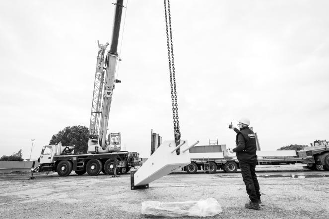 Aleandri SpA - Modugno (BA) - fasi di costruzione di un edificio industriale mediante elementi prefabbricati montati in 5 giorni lavorativi. Storytelling realizzato nel mese di gennaio 2020.Aleandri SpA - Modugno (BA) - fasi di costruzione di un edificio industriale mediante elementi prefabbricati montati in 5 giorni lavorativi. Storytelling realizzato nel mese di gennaio 2020.