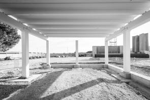 Aleandri SpA - Modugno (BA) - fasi di costruzione di un edificio industriale mediante elementi prefabbricati montati in 5 giorni lavorativi. Storytelling realizzato nel mese di gennaio 2020.